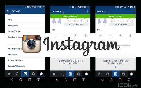 instagram-multi-comptes