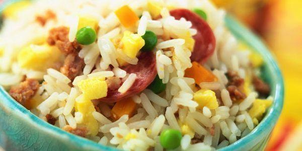 riz cantonais nouvel an chinois