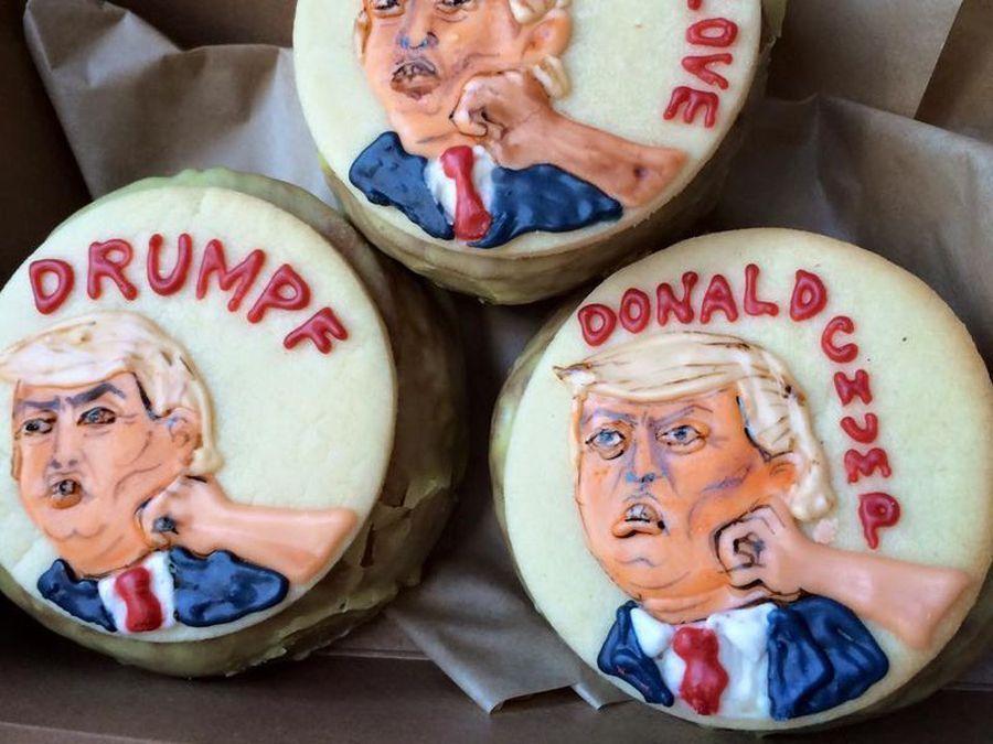 donald trump donuts