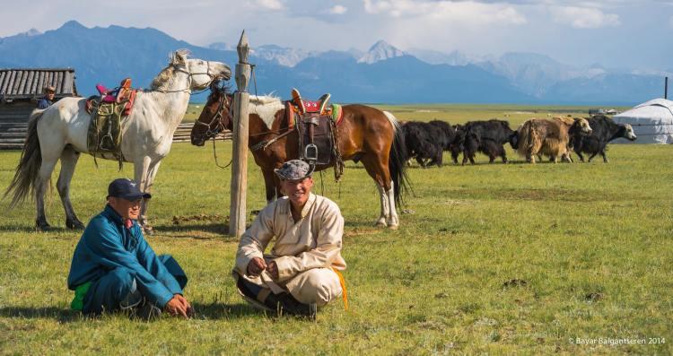 mongolie paysan