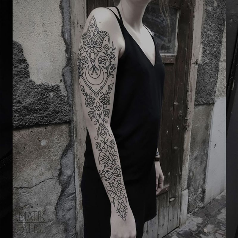 Dessine Moi Des Fleurs A N En Plus Finir Matik Tattoo Openminded