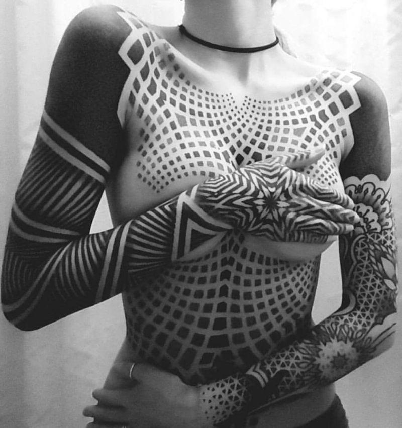 Geometrie Sacree Les Tatouages Tout En Nuances De Patrick