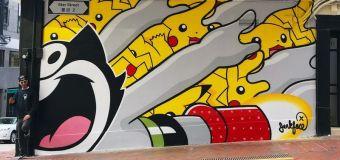 Hong Kong l'étoile montante du street art mondial