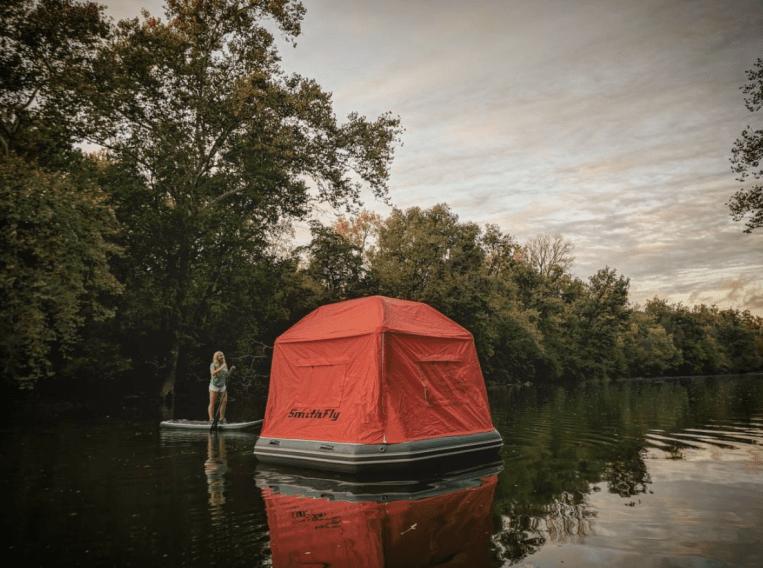 tente flottante