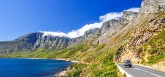 La route 62, la route des vins de Cape Town