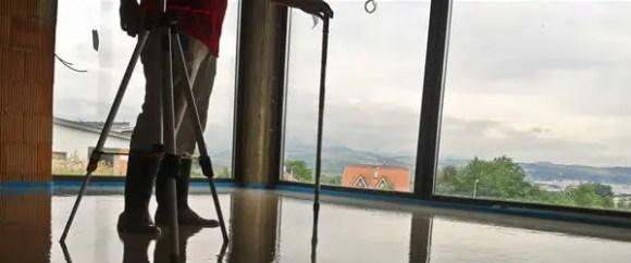 Meranie výšky anhydridového poteru
