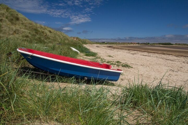 10 Beadnell beach