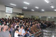 População enche o plenário da Câmara em posse da diretoria da OAB