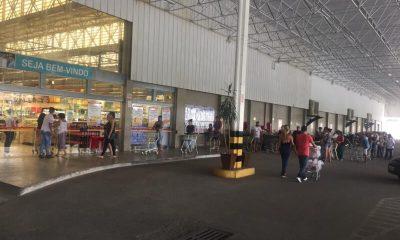 Supermercado ABC também foi fiscalizado mas apresentou a documentação exigida pela VSNS