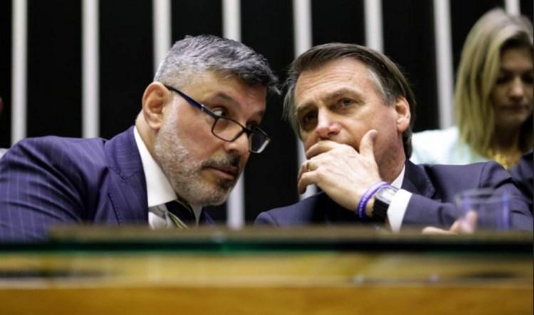 Alexandre Frota e Jair Bolsonaro