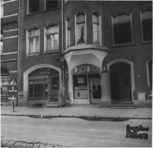 Zakład fotograficzny Pana Bruńca z ulicy Łąkowej 4