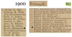 Friedrich Krause z Weidengasse 1c