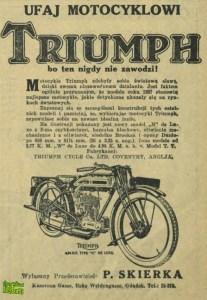 Triumph z ulicy Koszarowej - róg Weidengasse