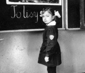 Uczennica przy Tablicy - Ela Glapińska