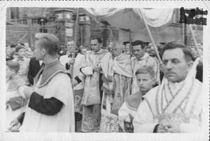 Procesja Bożego Ciała w 1953 r.