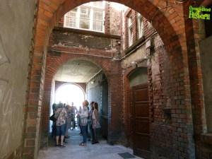 Wnętrze przejazdu bramnego - Ułańska 11