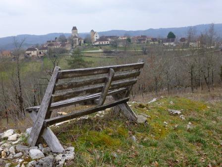 Les Argues: winter in de Lot, Zuid-Frankrijk