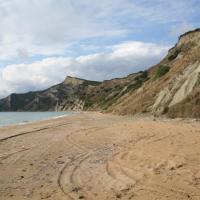 De grillige zuidpunt van Corfu