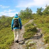 Gränslandet : wandelen op de grens van Zweden en Noorwegen