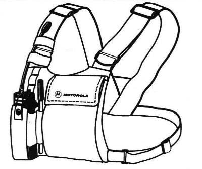 Motorola HLN6602A, Radio Chest Pack