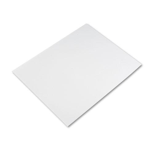 pacon four ply poster board 28 x 22 white 25 carton wb mason