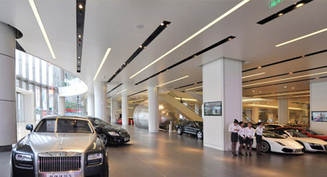AKD Luxury Car Mall OPPLE Lighting Global