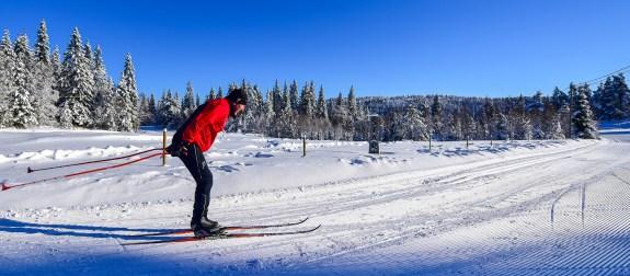 Høgås skianlegg Evje. Foto: Geir Daasvatn