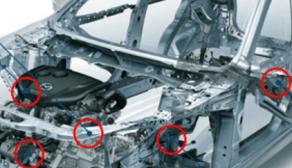 Foto: Kurata. Kmex fabrica autopartes de inyección de hule antivibración, como soportes de motor, partes de línea de tracción, bujes para suspensión y soportes del escape.
