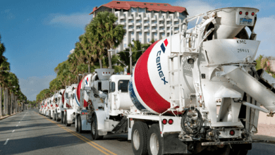 Cemex reported net sales of $ 2.912 million in the second quarter of 2020, a year-on-year drop of 14 percent.