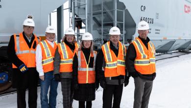 Photo of Canadian Pacific Railway muestra su nuevo tren de granos