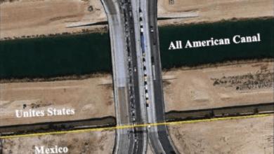 Photo of Amplían puente de Calexico para cruce de camiones