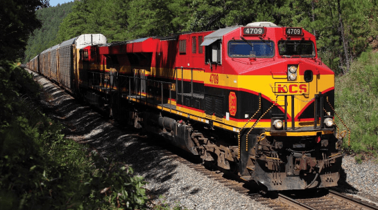 Kansas City Southern reported that it has lost 4 percentage points in its revenue so far in 2020 due to the blockage of the train track in Caltzontzin, Uruapan, Mexico. bloqueo de la vía del tren en Caltzontzin, Uruapan, México.