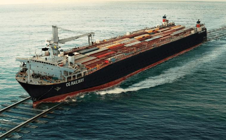 El ferrobuque atraviesa el Golfo de México y fortalece los servicios intermodales