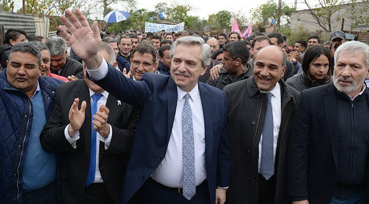 El candidato Alberto Fernández resultó ganador de las elecciones presidenciales de Argentina.