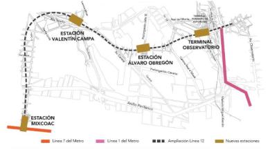 Photo of Destinan 500 mdp para Ampliación de Línea 12 Mixcoac-Observatorio