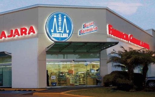 Farmacias Guadalajara es la primera cadena de superfarmacias que tiene presencia en las 32 entidades del país, en 400 ciudades, con más de 600 millones de clientes atendidos y más de 44,000 colaboradores en servicio día y noche, en más de 2,160 SuperFarmacias.