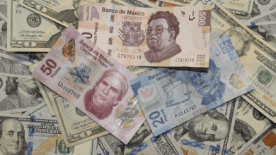 El peso inicia la sesión con una apreciación de 0.36% o 7.2 centavos, cotizando alrededor de 19.85 pesos por dólar. The peso starts the session with an appreciation of 0.36% or 7.2 cents, trading around 19.85 pesos per dollar.
