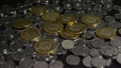 The Mexican peso gains 25 cents to the US dollar