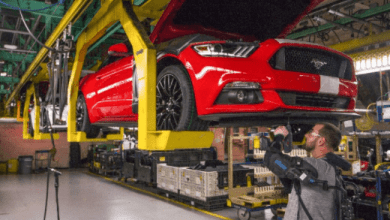 Ford Motor Co. said Wednesday that it plans to cut 1,400 employees in the United States by the end of 2020.