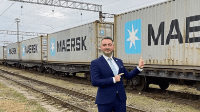 Photo of Maersk: el primer tren de bloque desde China llega a Georgia