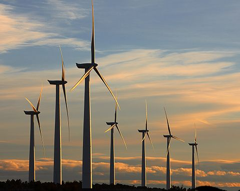 The United States broke a record in its capacity derived from wind turbine installations in 2020, the Energy Information Administration (EIA) reported.