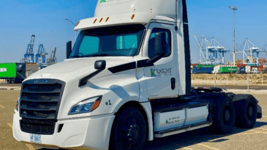 Knight-Swift Transportation Holdings Inc. reportó ingresos por 1,223 millones de dólares en el primer trimestre de 2021, un aumento de 8.7% en comparación con el mismo periodo de 2020. Knight-Swift Transportation Holdings Inc. reported revenue of $ 1.223 million in the first quarter of 2021, an increase of 8.7% compared to the same period in 2020.