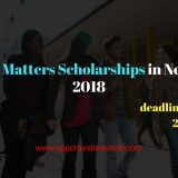 NN Future Matters Scholarships