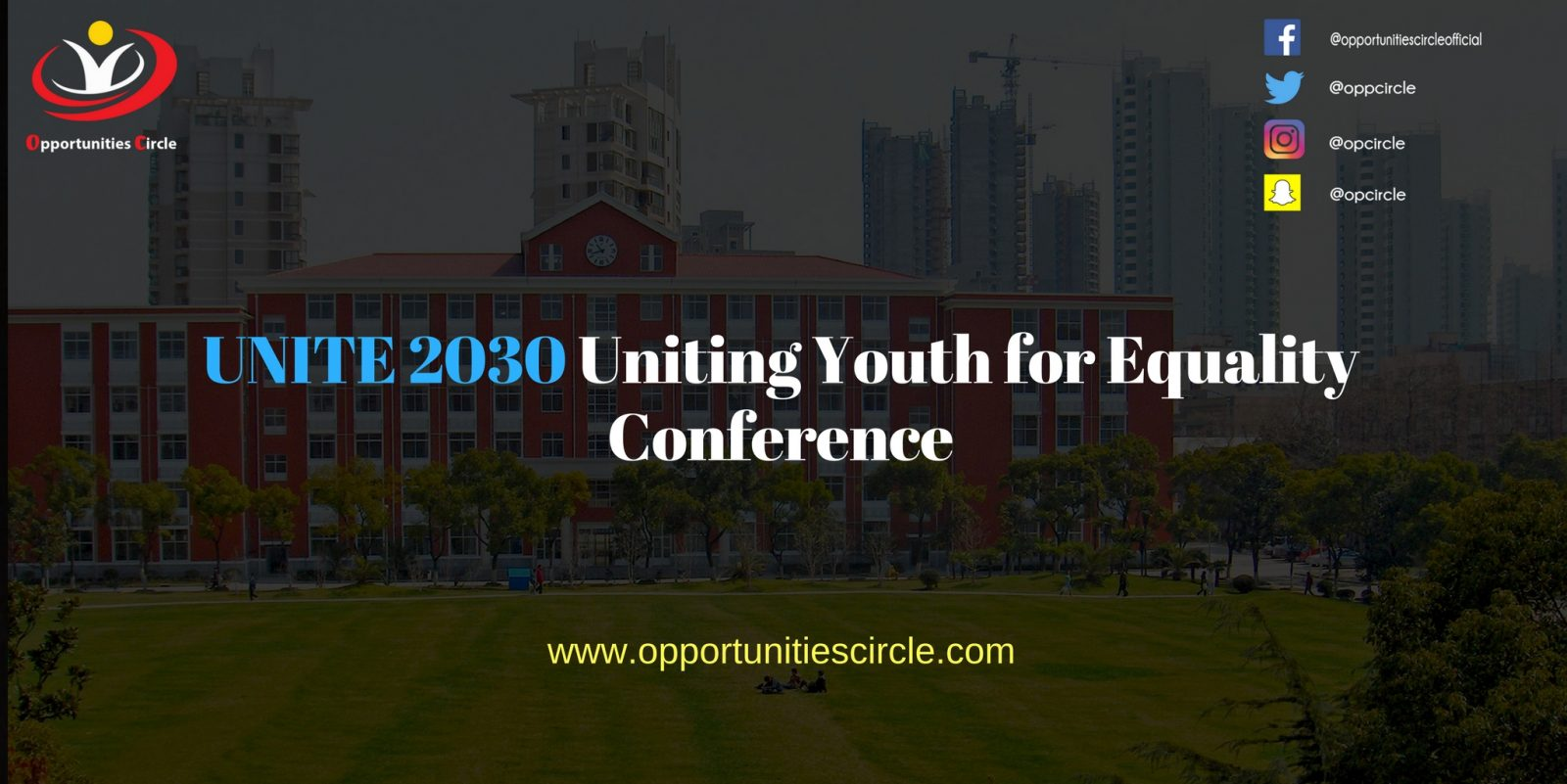 UNITE 2030 Uniting Youth for Equality Conference - UNITE 2030 Uniting Youth for Equality Conference