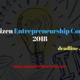 Youth Citizen Entrepreneurship Competition 2018