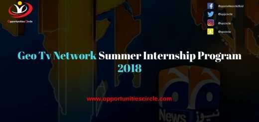 Geo Tv Network Summer Internship