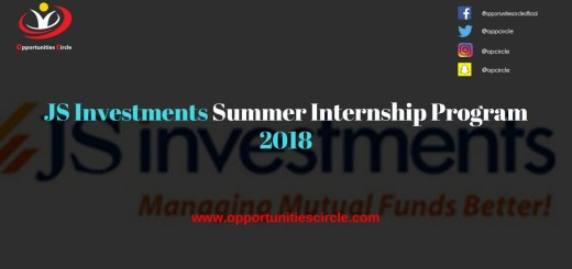 JS Investments Summer Internship