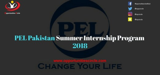 PEL Pakistan Summer Internship