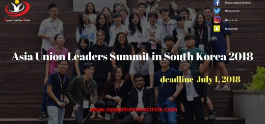 Asia Union Leaders Summit in South Korea 2018