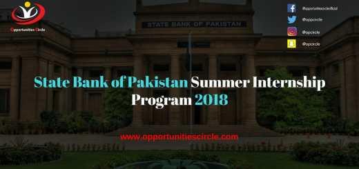 Pakistan Summer Internship Program